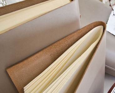 Photo albums for weddings leather handmade.
